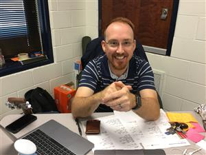 Mr. Doster, PES Music Teacher, is our Teacher of the Year