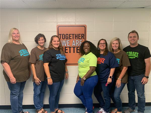 This is a picture of the teachers that provide additional support for students.