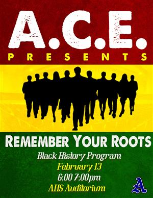 ACE Remember Your Roots Black History Program