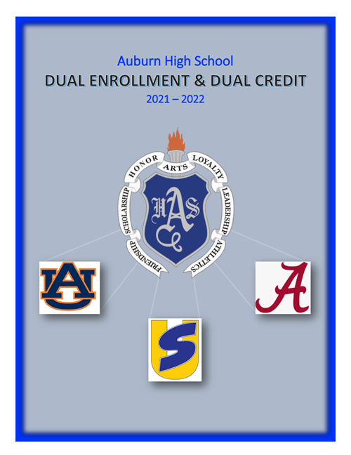 Click here for information regarding AHS's Dual Enrollment/Credit opportunities!