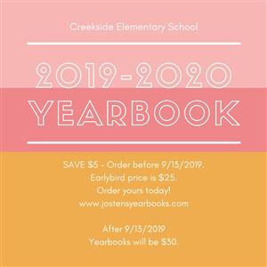 Image displaying information about the yearbook sale