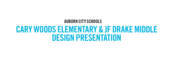 NEW: Cary Woods Elementary & JF Drake Middle Renderings