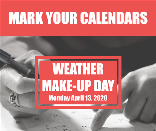 Weather Make-Up Day image